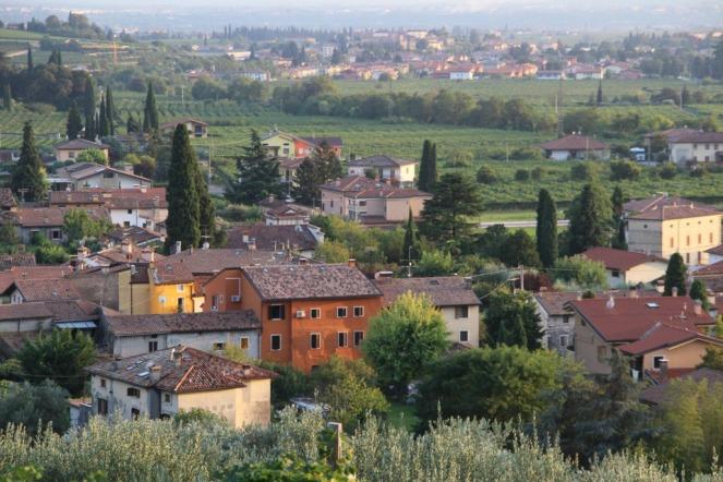 Landscape near Fumane, Italy