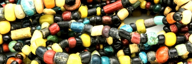 Beads from Myanmar